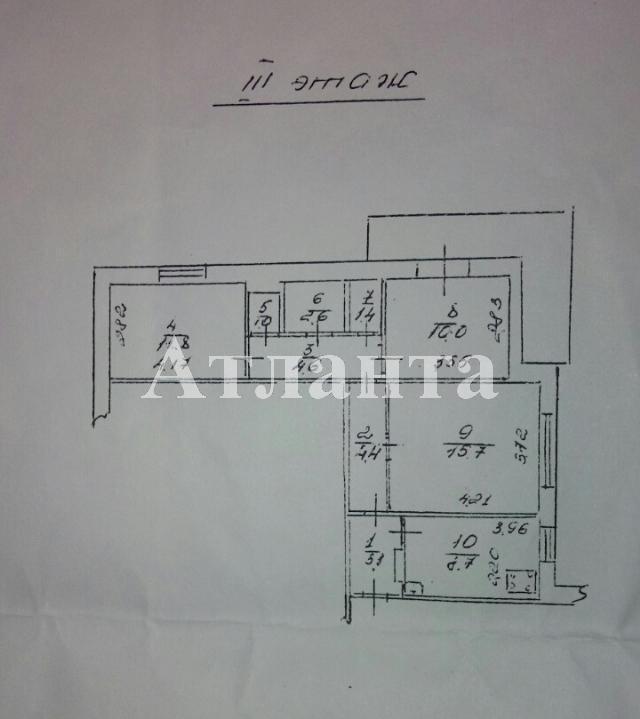 Продается 3-комнатная квартира на ул. 1 Мая — 50 000 у.е. (фото №2)