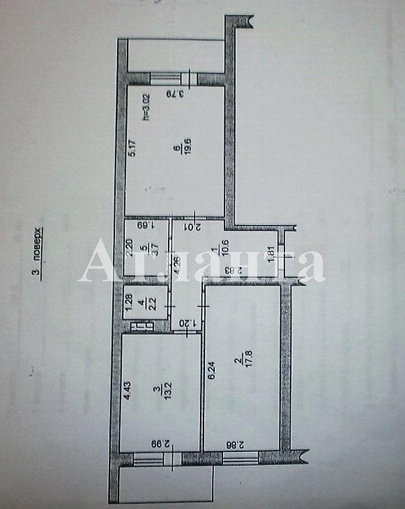 Продается 2-комнатная квартира на ул. Героев Сталинграда — 67 000 у.е. (фото №3)