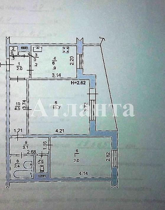 Продается 2-комнатная квартира на ул. 1 Мая — 52 000 у.е. (фото №3)