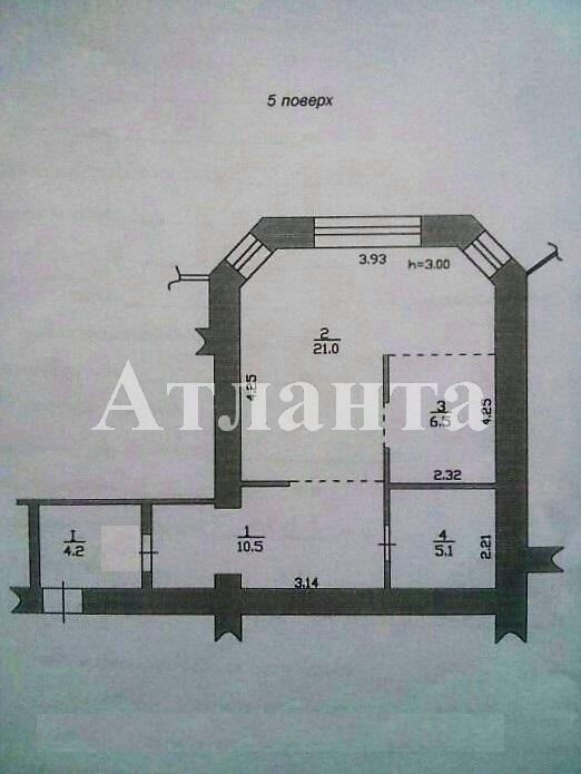 Продается 1-комнатная квартира на ул. Хантадзе Пер. — 49 000 у.е. (фото №2)