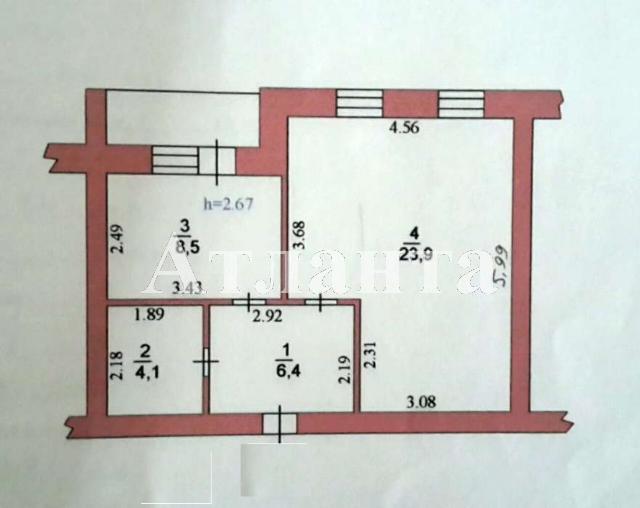 Продается 1-комнатная квартира на ул. Героев Сталинграда — 54 000 у.е. (фото №7)
