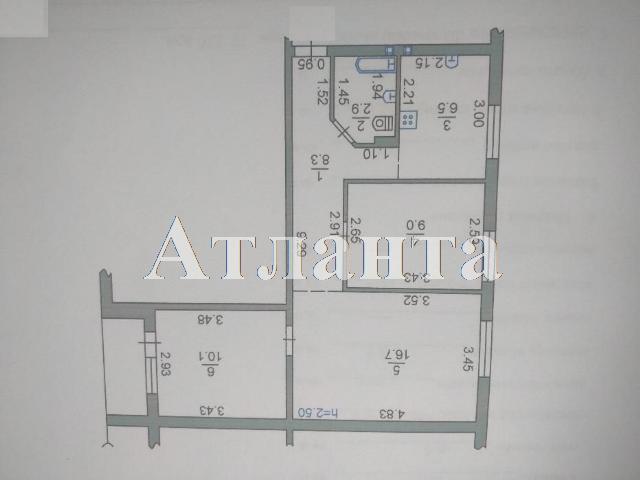 Продается 3-комнатная квартира на ул. Александрийская — 57 000 у.е. (фото №2)