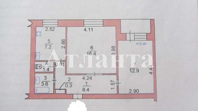 Продается 2-комнатная квартира на ул. Александрийская — 40 000 у.е. (фото №3)