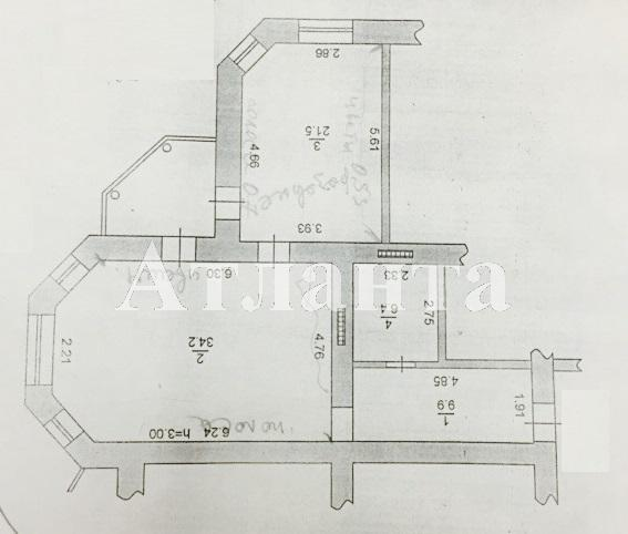 Продается 2-комнатная квартира на ул. Хантадзе Пер. — 110 000 у.е. (фото №2)