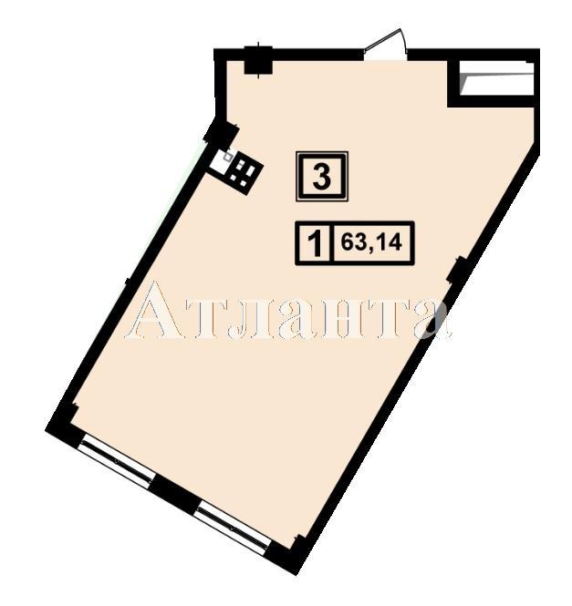 Продается 1-комнатная квартира в новострое на ул. Генуэзская — 59 980 у.е. (фото №3)