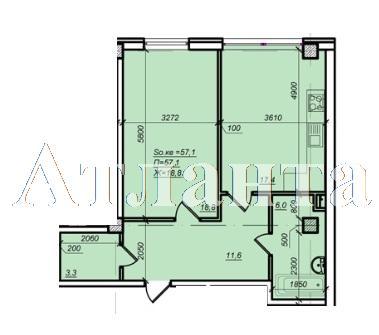 Продается 2-комнатная квартира в новострое на ул. Дюковская — 43 000 у.е. (фото №4)