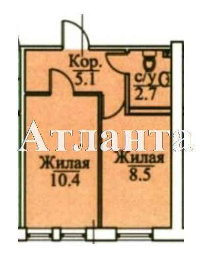 Продается 1-комнатная квартира в новострое на ул. Болгарская — 22 700 у.е. (фото №6)