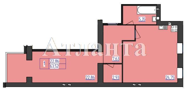 Продается 1-комнатная квартира в новострое на ул. 1 Мая — 31 870 у.е. (фото №5)