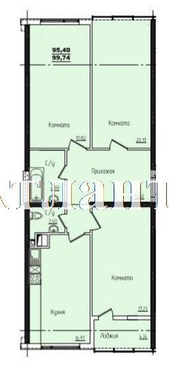 Продается 2-комнатная квартира в новострое на ул. Жм Дружный — 56 940 у.е. (фото №3)