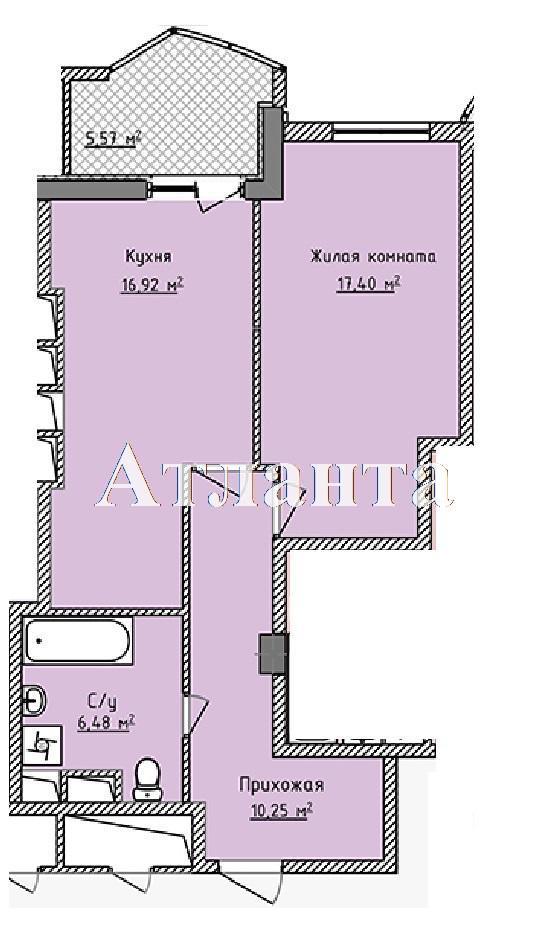 Продается 1-комнатная квартира в новострое на ул. Фонтанская Дор. — 52 580 у.е.