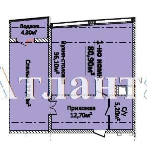 Продается 1-комнатная квартира в новострое на ул. Новобереговая — 72 810 у.е. (фото №4)