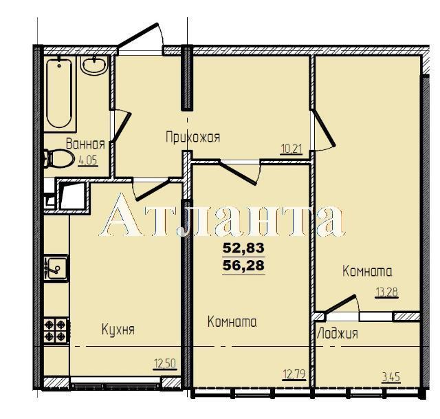 Продается 2-комнатная квартира в новострое на ул. Жм Дружный — 37 740 у.е. (фото №3)