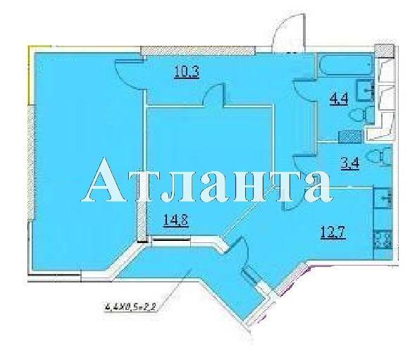 Продается 2-комнатная квартира в новострое на ул. Проценко — 46 000 у.е. (фото №4)