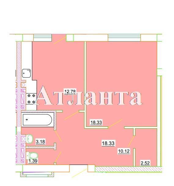 Продается 1-комнатная квартира в новострое на ул. Генерала Цветаева — 23 190 у.е. (фото №7)