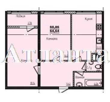 Продается 2-комнатная квартира в новострое на ул. Жм Дружный — 38 710 у.е. (фото №6)