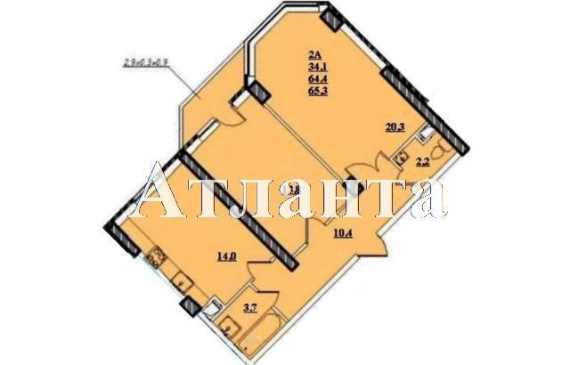 Продается 1-комнатная квартира в новострое на ул. Проценко — 43 280 у.е. (фото №4)