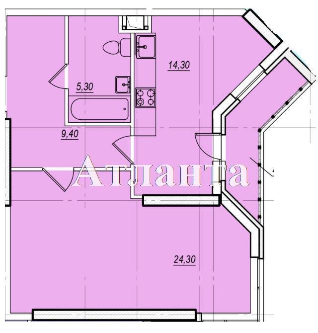 Продается 1-комнатная квартира в новострое на ул. Проценко — 36 000 у.е. (фото №4)