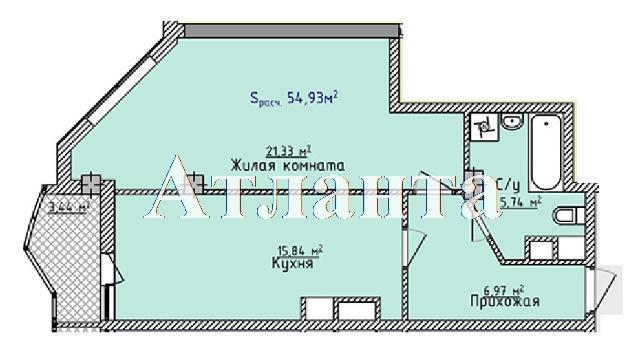 Продается 1-комнатная квартира в новострое на ул. Фонтанская Дор. — 35 710 у.е. (фото №4)