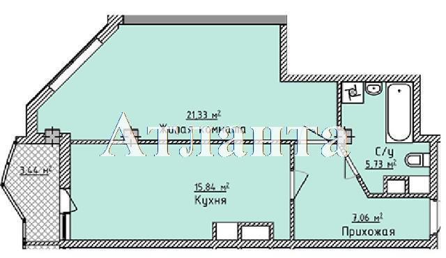 Продается 1-комнатная квартира в новострое на ул. Фонтанская Дор. — 40 640 у.е.