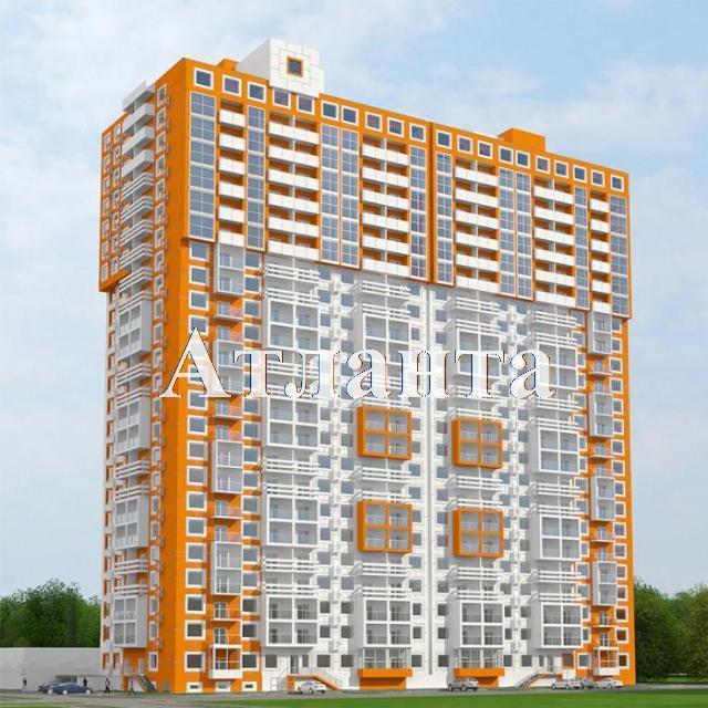 Продается 1-комнатная квартира в новострое на ул. Среднефонтанская — 46 300 у.е. (фото №2)