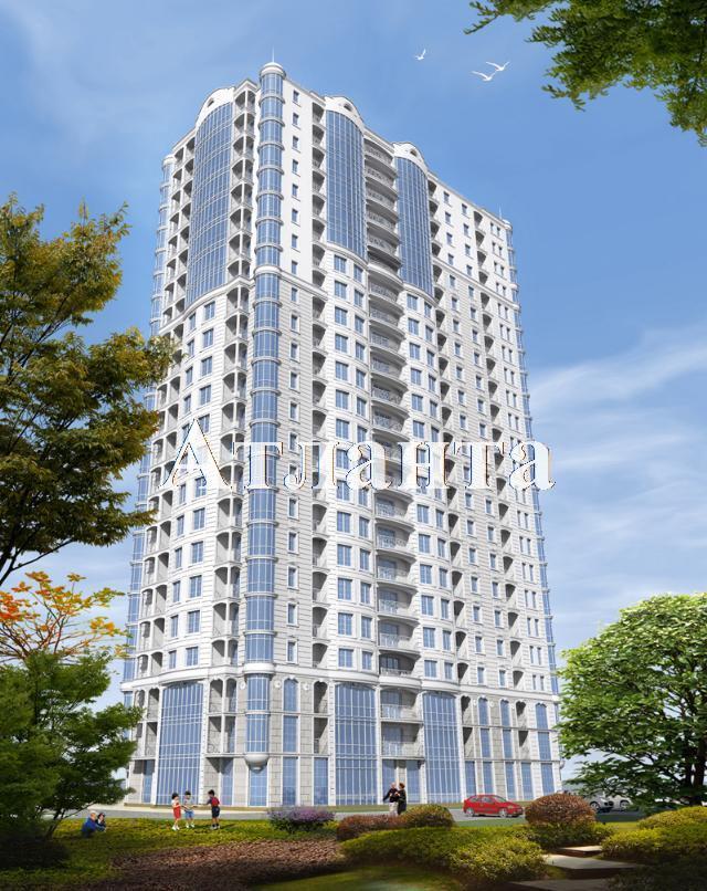 Продается 1-комнатная квартира в новострое на ул. Гагаринское Плато — 56 680 у.е. (фото №4)