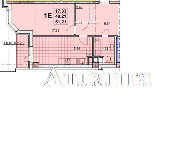 Продается 1-комнатная квартира в новострое на ул. Жаботинского — 40 190 у.е. (фото №4)