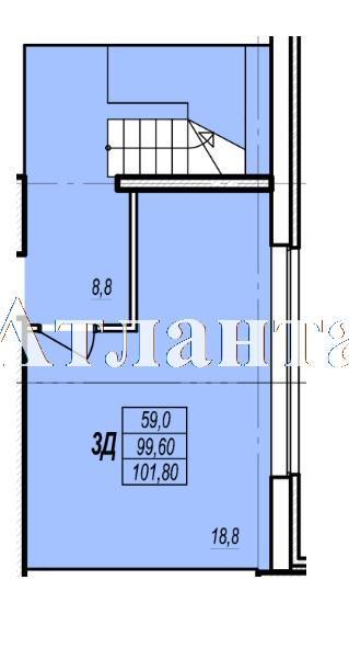 Продается Многоуровневая квартира в новострое на ул. Жаботинского — 70 550 у.е. (фото №4)