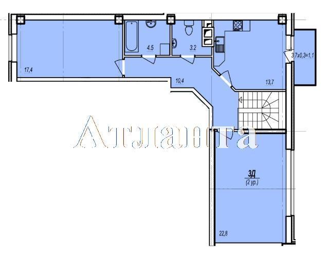 Продается Многоуровневая квартира в новострое на ул. Жаботинского — 70 550 у.е. (фото №5)