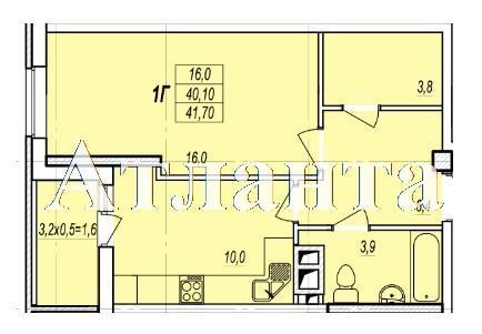 Продается 1-комнатная квартира в новострое на ул. Жаботинского — 32 730 у.е. (фото №4)