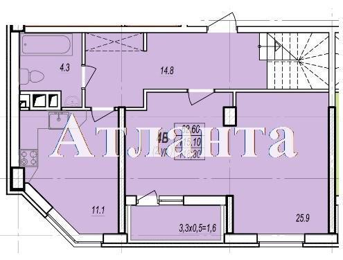 Продается Многоуровневая квартира в новострое на ул. Балковская — 70 030 у.е. (фото №3)