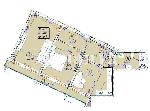 Продается 2-комнатная квартира в новострое на ул. Фонтанская Дор. — 49 630 у.е. (фото №7)