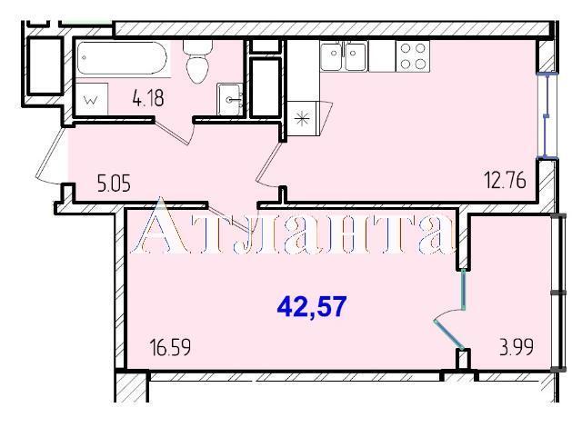 Продается 1-комнатная квартира в новострое на ул. Жм Дружный — 26 210 у.е. (фото №8)
