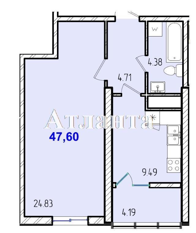 Продается 1-комнатная квартира в новострое на ул. Жм Дружный — 29 180 у.е. (фото №8)