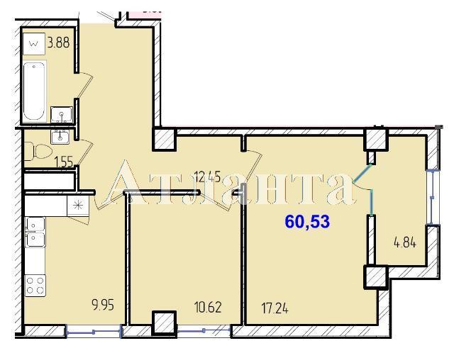 Продается 2-комнатная квартира в новострое на ул. Жм Дружный — 36 920 у.е. (фото №8)