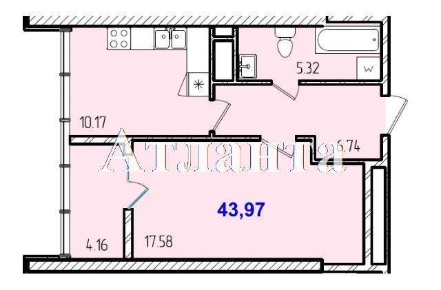 Продается 1-комнатная квартира в новострое на ул. Жм Дружный — 25 750 у.е. (фото №8)
