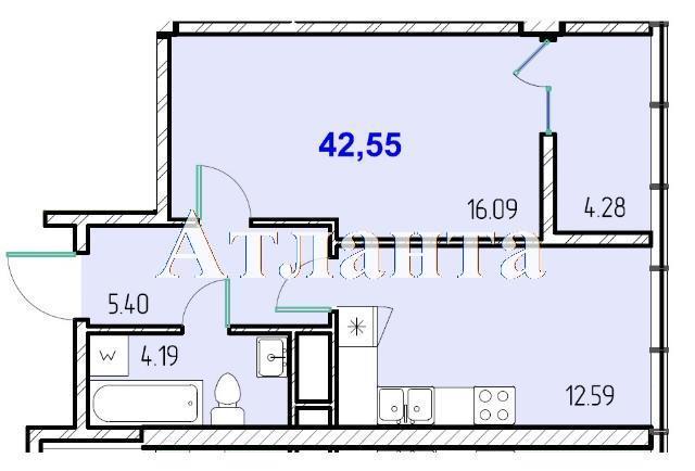 Продается 1-комнатная квартира в новострое на ул. Жм Дружный — 25 650 у.е. (фото №8)
