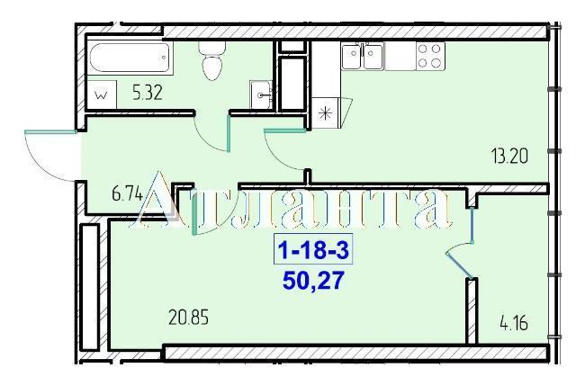Продается 1-комнатная квартира в новострое на ул. Жм Дружный — 30 430 у.е. (фото №8)
