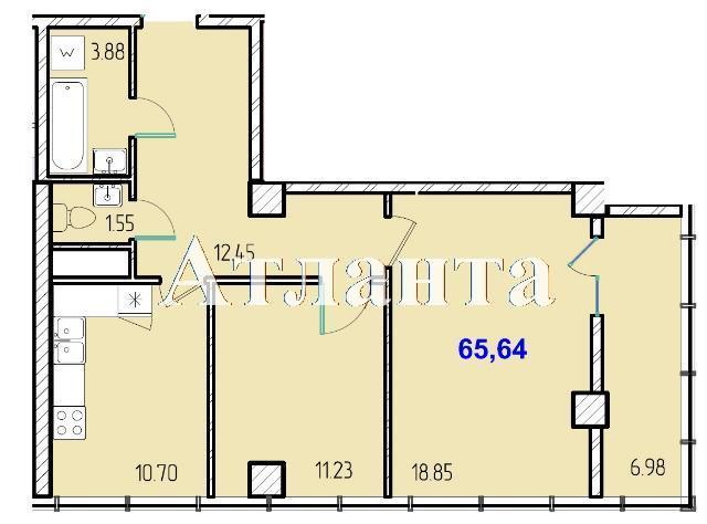Продается 2-комнатная квартира в новострое на ул. Жм Дружный — 39 290 у.е. (фото №8)