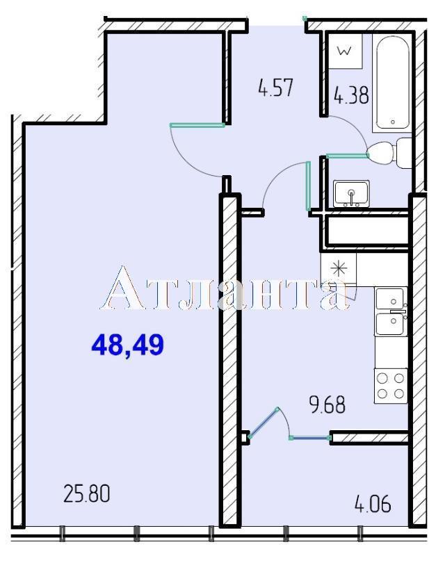 Продается 1-комнатная квартира в новострое на ул. Жм Дружный — 29 730 у.е. (фото №8)