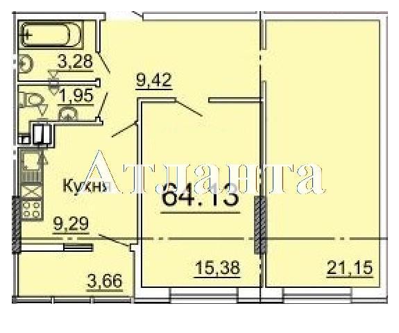 Продается 2-комнатная квартира в новострое на ул. Фонтанская Дор. — 64 010 у.е. (фото №4)