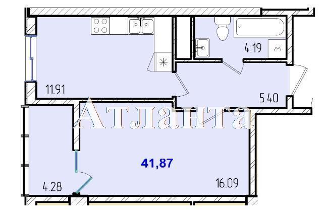 Продается 1-комнатная квартира в новострое на ул. Жм Дружный — 25 670 у.е. (фото №8)