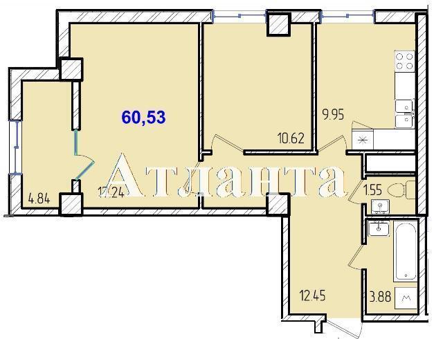 Продается 2-комнатная квартира в новострое на ул. Жм Дружный — 36 240 у.е. (фото №8)