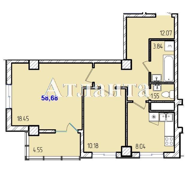 Продается 2-комнатная квартира в новострое на ул. Жм Дружный — 35 370 у.е. (фото №8)