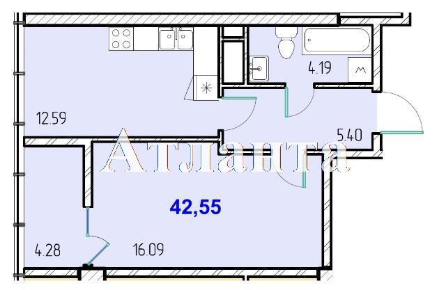 Продается 1-комнатная квартира в новострое на ул. Жм Дружный — 25 910 у.е. (фото №8)