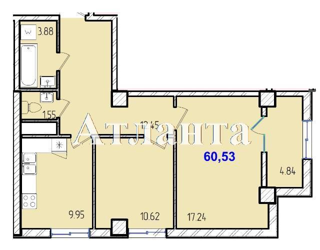 Продается 2-комнатная квартира в новострое на ул. Жм Дружный — 35 310 у.е. (фото №8)