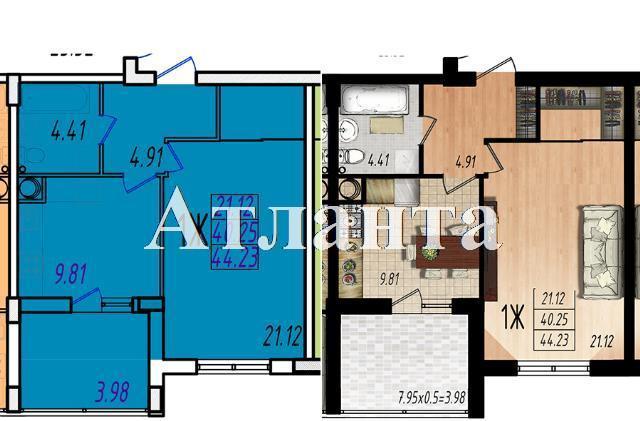 Продается 1-комнатная квартира в новострое на ул. Жм Дружный — 26 320 у.е. (фото №7)