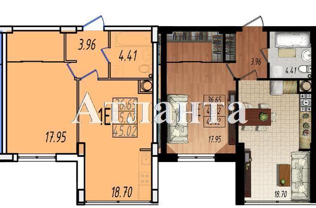 Продается 1-комнатная квартира в новострое на ул. Жм Дружный — 26 780 у.е. (фото №5)