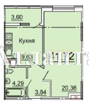 Продается 1-комнатная квартира в новострое на ул. Фонтанская Дор. — 41 640 у.е.