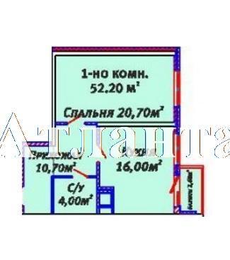 Продается 1-комнатная квартира в новострое на ул. Люстдорфская Дорога — 38 800 у.е. (фото №4)
