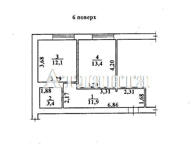 Продается 1-комнатная квартира в новострое на ул. Коралловая — 36 720 у.е. (фото №3)